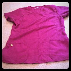 Other - Medium maroon scrub top